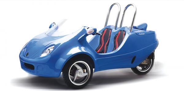 Scoot Coupe: новый вид транспорта