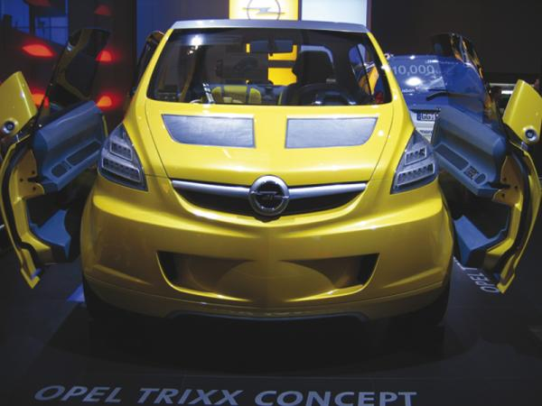 Opel делает акцент на мини-кары