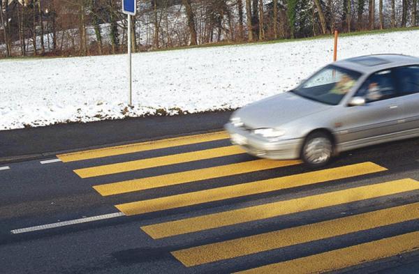 Европа устанавливает новые  стандарты к пешеходным переходам