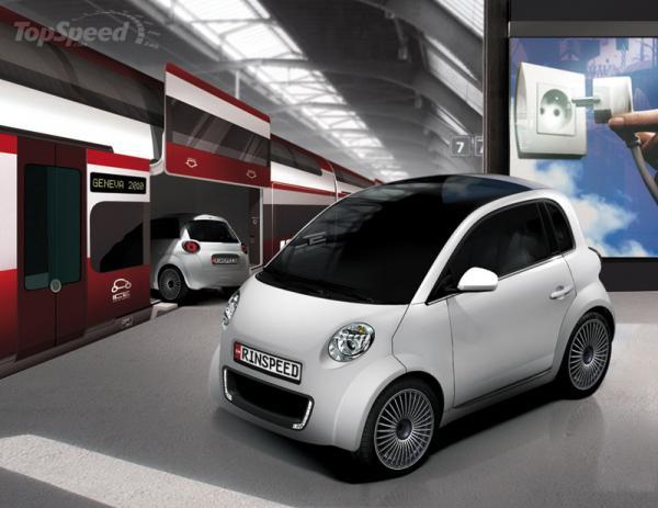 Rinspeed UC – маленький электромобиль