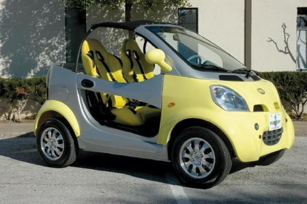 Kandi Coco – самый дешевый  автомобиль