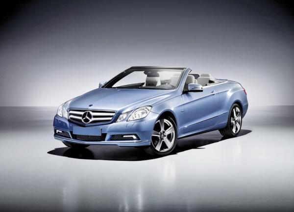 Mercedes-Benz E-Class Cabriolet: пополнение в семействе E-Class