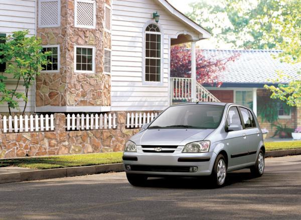 Hyundai Getz (2002–2005): золотая середина