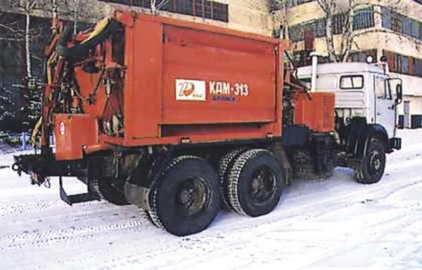 Харьков. Ремонт дорог продолжается и зимой
