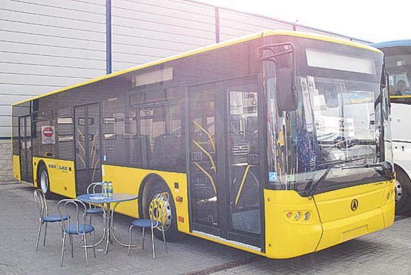 Днепропетровск. Автобус CityLaz: начато серийное производство