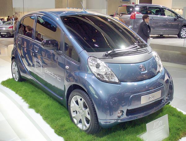 Peugeot iOn пойдет в серийное производство уже в этом году