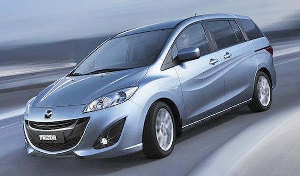 Mazda 5: третье поколение