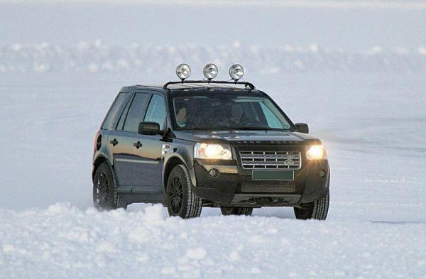 Land Rover LRX: зимнее тестирование
