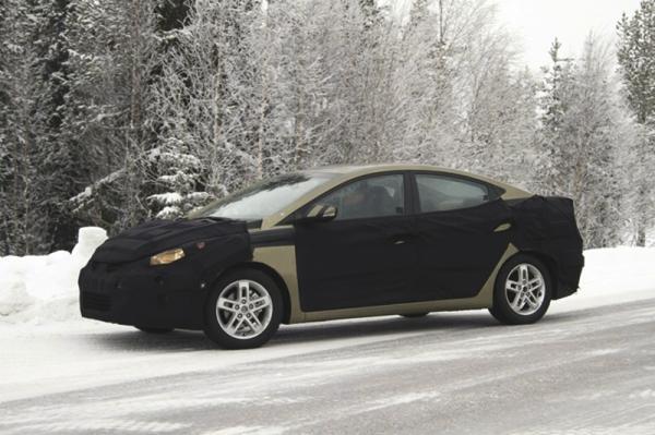 Hyundai Elantra 2011 модельного года