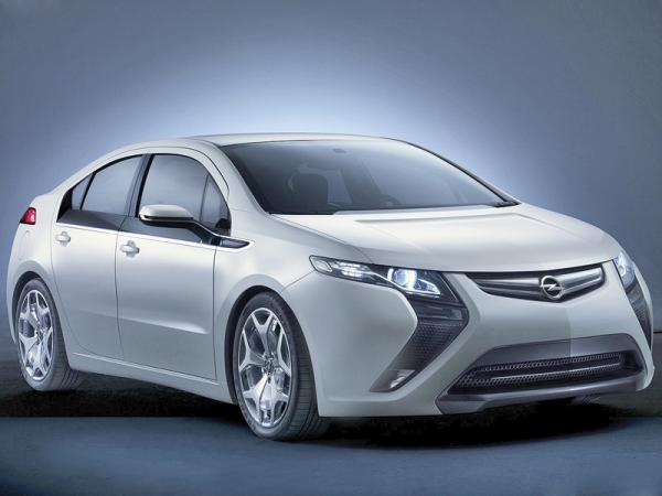 Opel Ampera: транспорт будущего