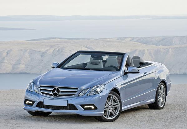Mercedes-Benz E-Class Cabriolet доступен в Украине