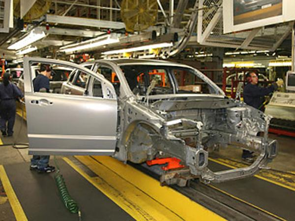 Автопроизводство в Украине сокращается
