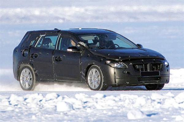 Универсал Volvo S60 проходит предсерийные испытания