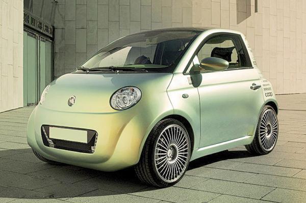 Женева 2010 Rinspeed UC станет массовым электромобилем
