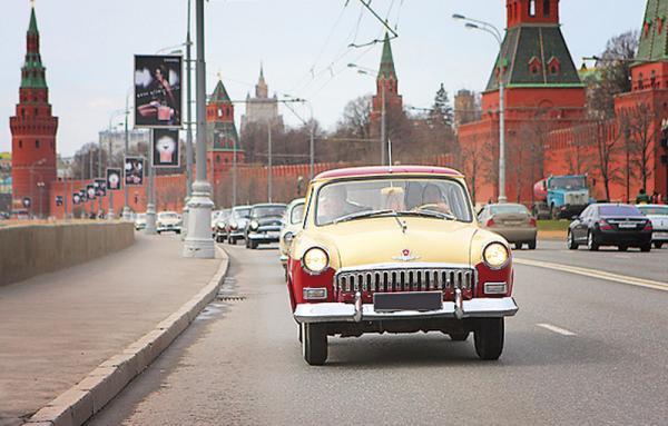 Автопробег в честь Дня Победы
