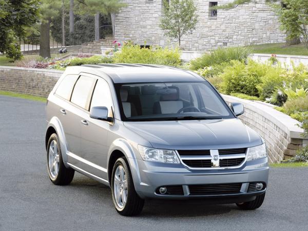 Dodge Journey: вседорожник для всей семьи