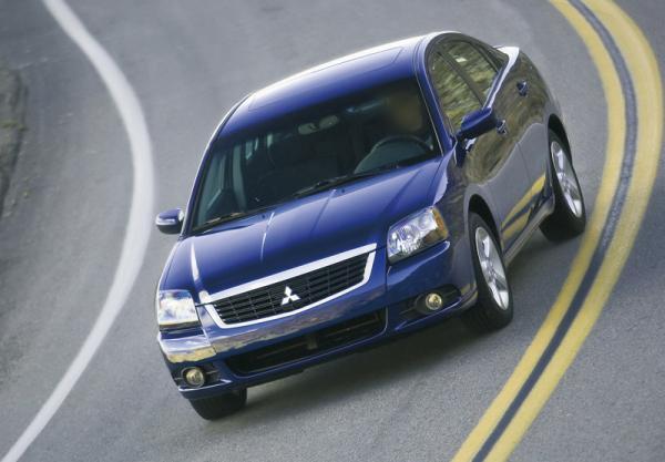 Mitsubishi Galant: обновление
