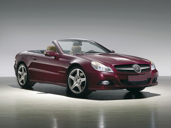 Mercedes-Benz SL-Class: модернизация
