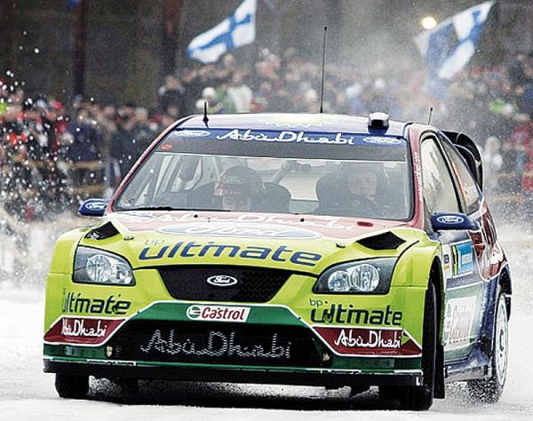 WRC: Триумф Ford в Швеции