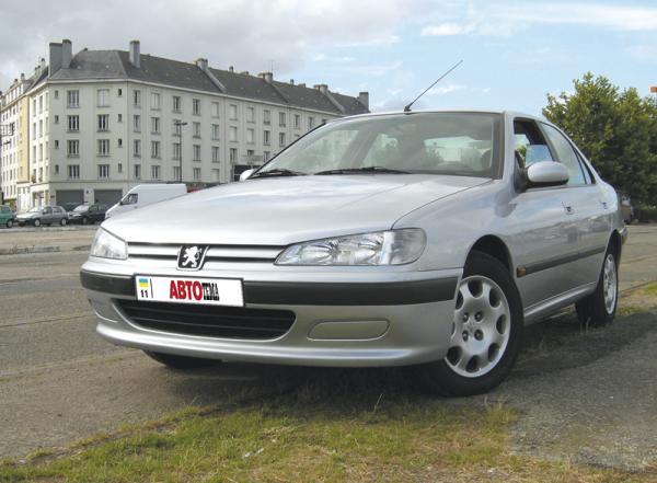 Peugeot 406: счастливое число 406