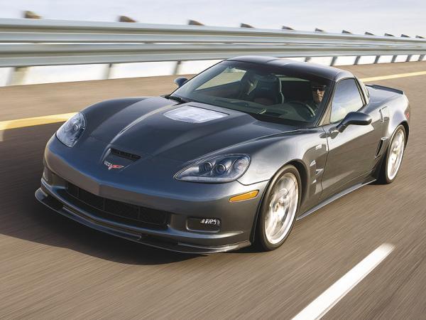 Chevrolet Corvette ZR1: настоящий американский суперкар