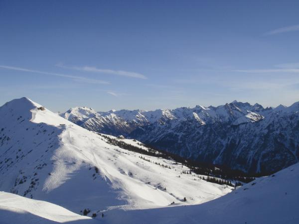 Альпийские курорты Германии и Австрии