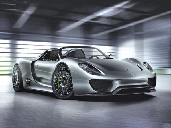 Porsche 918 Spyder станет серийным