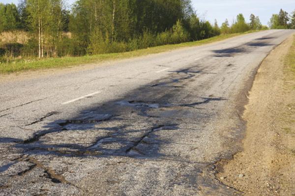 Состояние украинских дорог в 2010 году – самое плохое за последние 10 лет