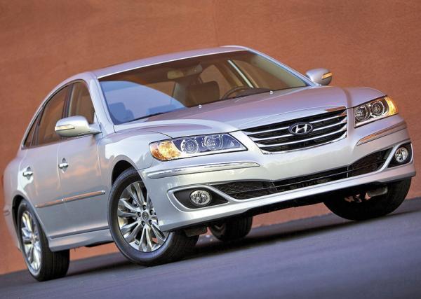 Hyundai Grandeur: освежение