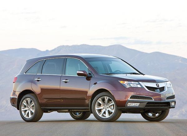 Acura MDX начали продавать в Украине