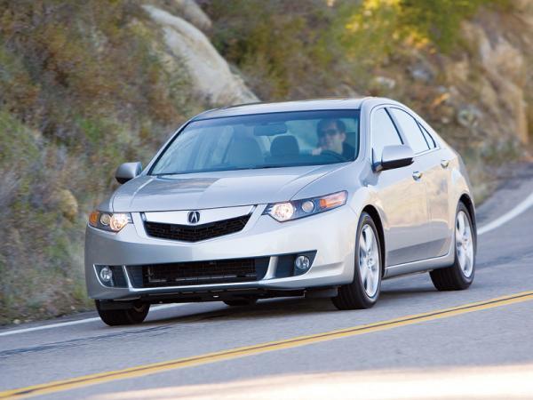Acura TSX: второе поколение