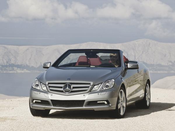 Mercedes-Benz E-Class Cabriolet: кабриолет, который не боится холода