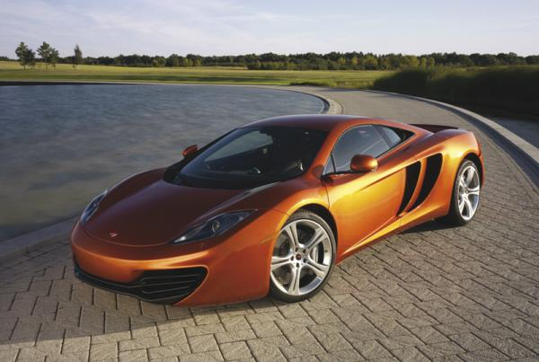 McLaren презентовал суперкар MP4-12C