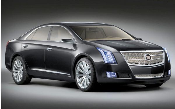 Cadillac XTS Platinum в 2012 году сменит сразу две модели STS и DTS