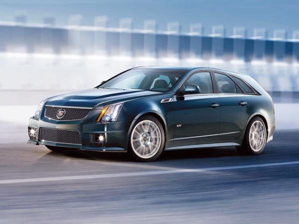 Cadillac CTS-V Sport Wagon: спортивный универсал