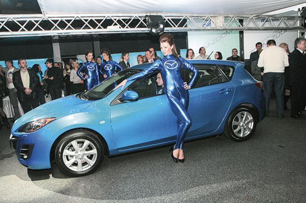 Mazda 3 нового поколения уже в Украине