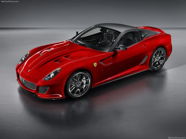 В Ferrari представили купе 599 GTO
