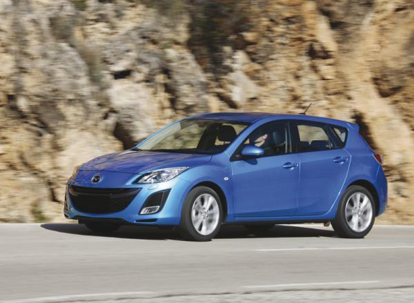 Обновленный Mazda 3