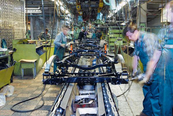 Производство автомобилей в Украине выходит из кризиса