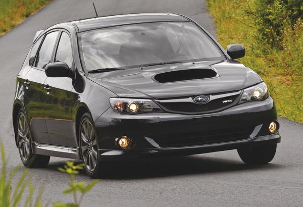 Subaru Impreza:  прибавка в мощности