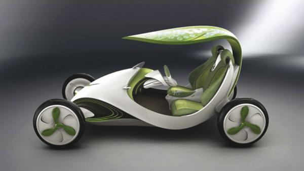 В Китае презентовали автомобиль-лист