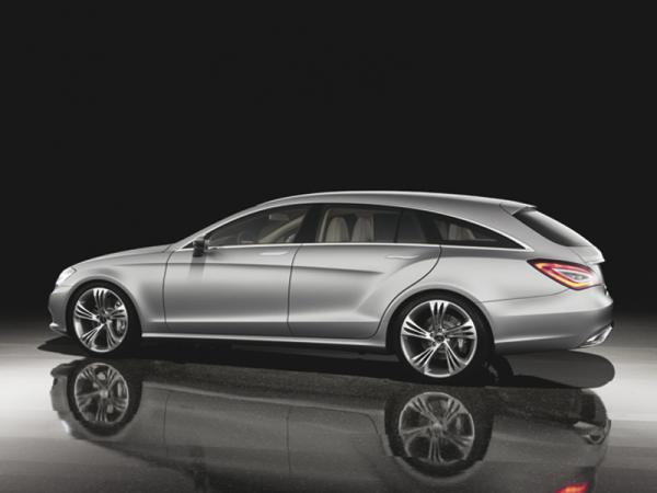 Mercedes-Benz представил концепт спортуниверсала  Shooting Brake
