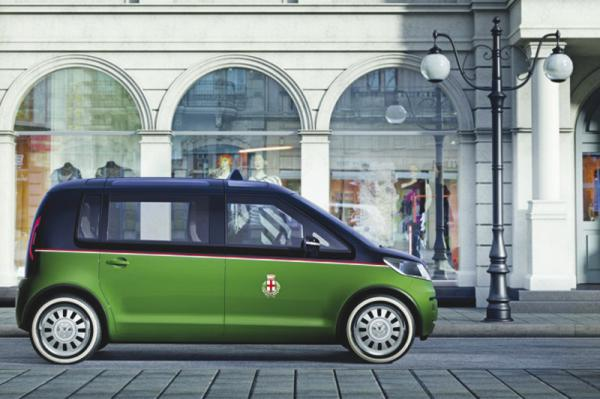 Volkswagen Milano Taxi:  электрическое такси