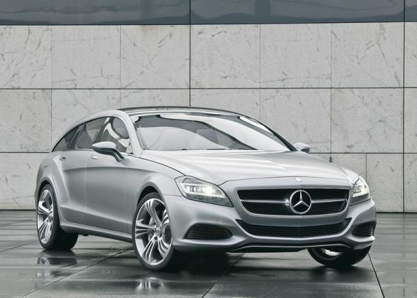 Mercedes-Benz Shooting Break Concept: предшественник нового CLS