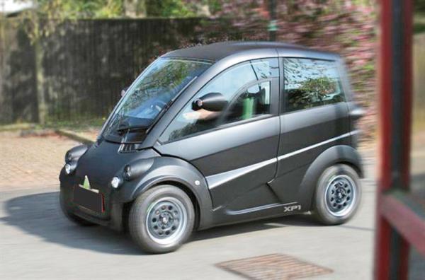 Т25 откроет новую эру городских микроавтомобилей