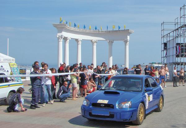 "Subaru Open Cup – 2010 Первый этап – ""Легенды Крыма"""