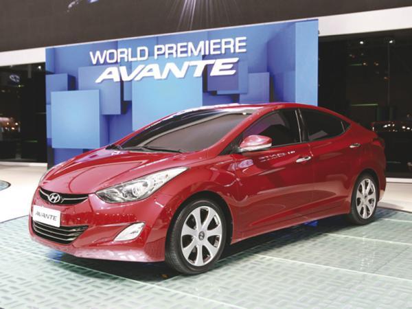 Обновленный Hyundai Avante (в Европе – Elantra)
