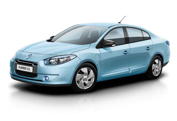 Renault Fluence Z.E.: большой электромобиль