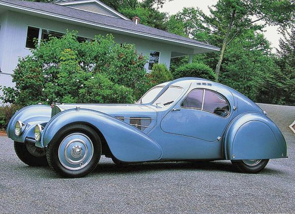Bugatti 57SC Atlantic: самый дорогой автомобиль в мире