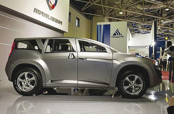 Marussia F2: новый российский вседорожник
